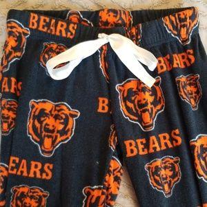 Chicago Bears fleece pants